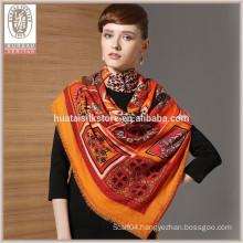 Wholesale 100% wool scarf winter scarf shawl muslim lady scarf