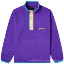 Pullover Sherpa Fleece Jacken Großhandel Custom