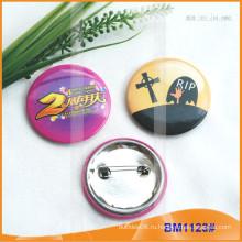 Пользовательские олово круглый красочный значок Кнопки BM1123