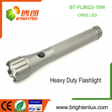 Factory Wholesale 3D battery Used Best Heavy Duty Metal Tactical Handheld Hunting Brightest Aluminium 10w led Flashlight xml t6
