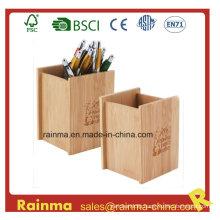 Bamboo Pen Holder for Office Supply