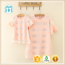 Hot Selling Kids casual Clothing Baby girl Dress women / adult clothes/mom clothes/daughters
