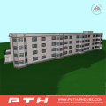 Halal Style Prefab Office Building with Customized Size