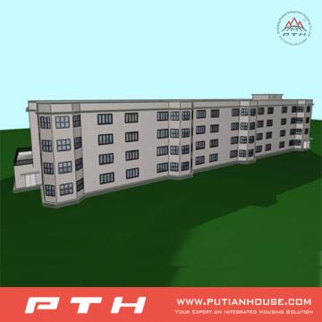 Light Steel House as Prefab Modular Luxury Hotel Building