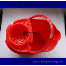 Plastikwaren-Mopp-Eimer mit Wringer-Form