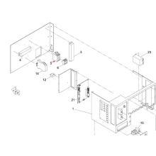 Contactor de imán Panasonic SMT para máquina de impresora de pantalla Sp60p-M (KXFP6EBQA00)