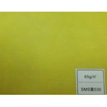 Tissu SMS (jaune 65GSM)