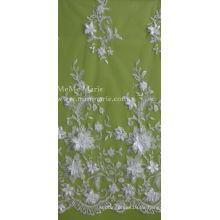3D Spitze mit Blumen Stickerei Spitze Textil Braut Spitze 52 '' No.CA105AB