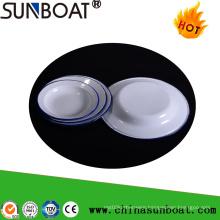 Enamel Tableware Food Plate