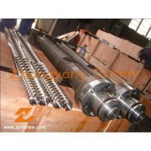 Kabra Extrusão de PVC Paralelo Parafuso Duplo e Barril