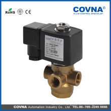 3 way solenoid valve 12v, brass water valve