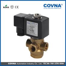 3-ходовой электромагнитный клапан 12v, клапан латунной воды