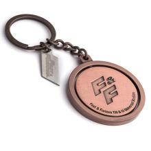 Yiwu Fashion Keychain Maker Gold Silver Plated Key Ring Custom Metal Engraved Logo Sport Medal Key Chain
