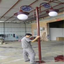 10W / 20W / 30 / 40W / 50W / 60W Lampe de jardin à LED solaire