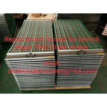 Corrugated Replacement Screens für Derrick Hyperpool Shaker