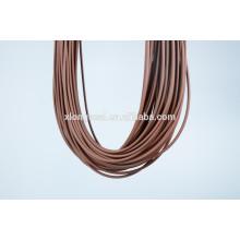 2015 Cordon en caoutchouc design design pour collier