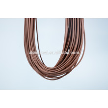 2015 Fashion design rubber cord for necklace