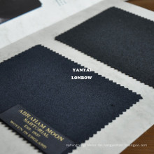100% Wolle Wollstoff hochwertige Barathea in Großbritannien hergestellt