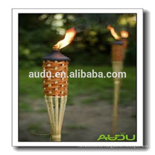 Audu baratos al aire libre Tiki de bambú antorcha