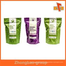 China supplier moisture proof wholesale food grade printed laminated foil ziplock bag