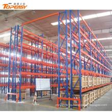 Estante de plataforma selectivo de acero resistente de Warehouse revestido del polvo