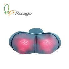 Mini oreiller de massage de chauffage de gamme complète pour l'usage à la maison de voiture