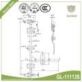 Kühlschrank-LKW-Hintertür-Verriegelungssatz