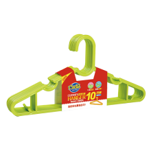 8411 plastic anti-skidding clothes hanger