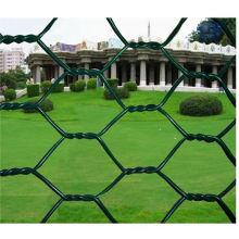 Maille hexagonale revêtue de PVC
