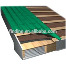 papelão ondulado galvanizado telhado folha rolo formando/que faz a máquina
