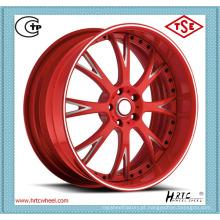 Menos óleo consumido preço competitivo bordas forjadas rodas forjadas fábrica