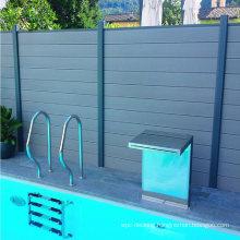 Wholesale WPC Fencing Trellis Easy Installation Composite Post Outdoor Garden Fence