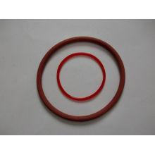 Roter Silikon O-Ring