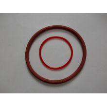 Anillo O rojo de silicona