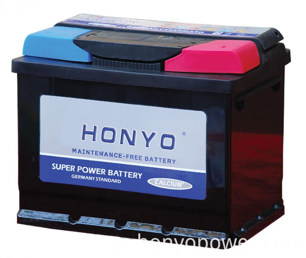 DIN55MF Lead-acid MF Car Batteries