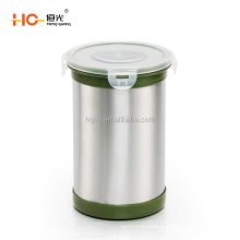 practical stainless steel canisters coffee jag food container