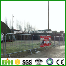 Wholesale used metal crowd control barrier/ removable road crowd control barricades