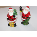 17cm Stand-up Santa Claus Ceramic Table decoraciones XMAS