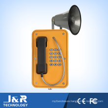 Vandal-Resistant Wall Phone IP Paging Intercom Weatherproof Marine Telephone