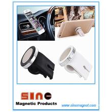 Новый магнитный автомобильный держатель для телефона с отверстием для выхода воздуха