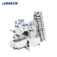 JK4412P Multi-Nadel-industrielle Zylinderbett 12-Nadel-Doppelkettenstich-Nähmaschine Kleidermaschinerie