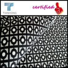 Цветочные печати атласная ткань/спандекс мягкость полосой атлас обивки ткани/хлопок спандекс сатин настроены для Uniqlo