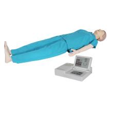Mannequin de perfectionnement automatique avancé de la formation en soins infirmiers en RCR