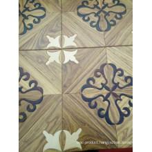 High -End Handscraped Hardwood Solid Engineered Wood Flooring