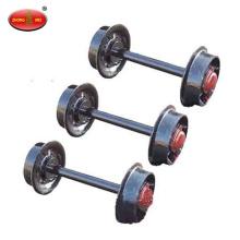 mining car wheel set railway wheel set