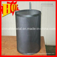 Titanium Basket Anode for Electroplating