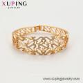 52167 xuping women 18k gold plated environmental copper bangles