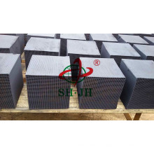 High Quality Cube Activated Carbon Honeycomb factory