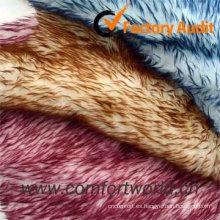 Funda de asiento de coche Artificial Fur Fabric Fort