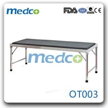 Hôpital SS antique table d'examen médical OT003